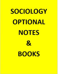 Sociology Optional Notes & Study Material