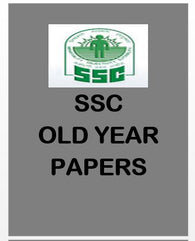 SSC Previous Year Question Papers with Solutions