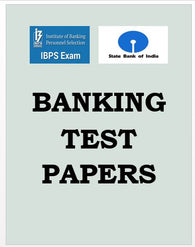 Banking Test Papers