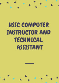 HSSC Computer Instructor And Technical Assistant