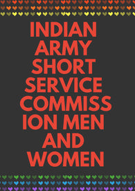 Indian Army Short Service Commission Men And Women