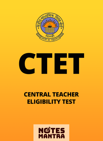 Central Teacher Eligibility Test, CTET Syllabus