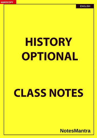 History Optional Notes