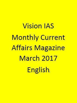 Vision IAS Monthly Current Affairs Magazine – March 2017-Hindi