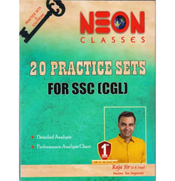 Neon Publication, Jaipur [20 Practice Sets for SSC CGL with Explanation, (Bilingual), Paperback] by Raja Sir (A K Arya)