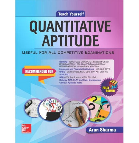 McGraw Hill Education [Quantitative Aptitude (English), Paperback] by Arun Sharma
