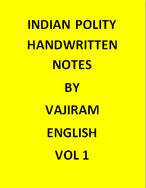 Vajiram & Ravi Indian Polity Notes