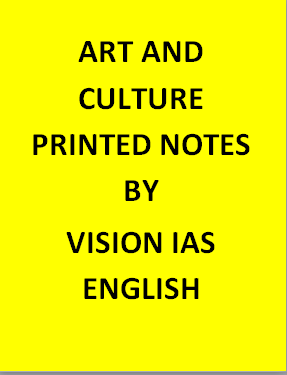 Vision IAS  Art And Culture Notes Printed -English