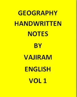 Geography Handwritten Vajiram & Ravi Notes -English