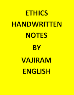 Ethics Handwritten Vajiram & Ravi notes-English