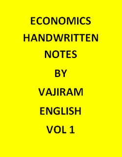 Economics Handwritten Vajiram & Ravi Notes-English