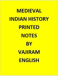 Vajiram & Ravi  Medieval Indian History Notes