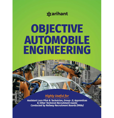 Arihant Publication – Objective Automobile Engineering (English, Paperback) by Arihant Expert Team