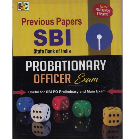 BSC - SBI Previous Years Papers Probationary Officer Exam PT cum Mains (English, Paperback)
