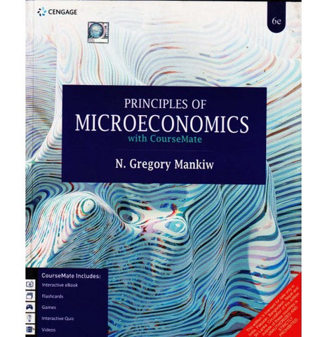 Cengage Learning [Principles of MICROECONOMICS witiwh CourseMate (English), Paperback] by N. Gregory Mank