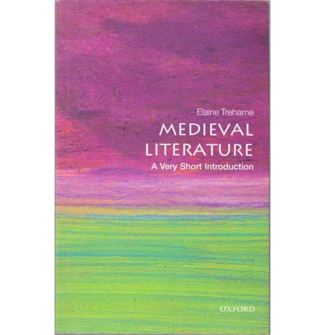 Oxford Series [Medieval Literature (A Very Short Introduction) English, Paperback] by Elaine Treharne