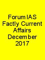 ForumIAS Factly Current Affairs December 2017 N
