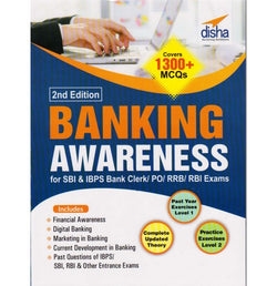 Disha Publication [Banking Awareness 2nd Edition Covers 1300+ MCQs (English), Paperback]