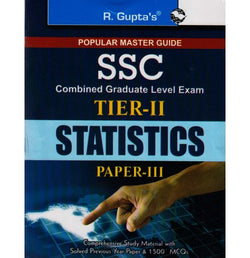 R. Gupta's Publication [SSC CGL TIER - II STATISTICS Paper - III (English) Paperback]