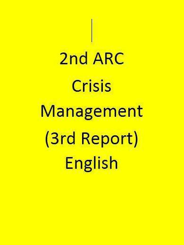 2nd ARC Crisis Management (3rd Report) - English