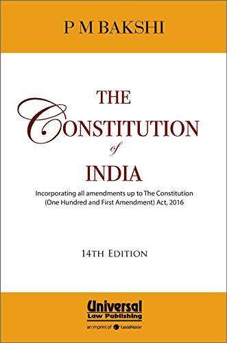 The Constitution of India (Pocket Edition)
