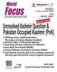 Unresolved Kasminr Question & Pakistan Occupied Kashmir (PoK) (July)