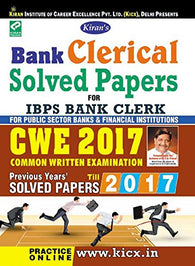 Kiran's Bank Clerical Solved Papers for IBPS Bank Clerk CWE 2017 - 1885