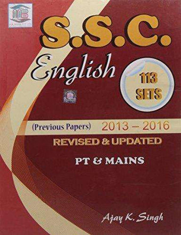 SSC English - 113 Sets: Anglo-Hindi