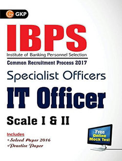 IBPS Specialist Officers IT Officers 2017