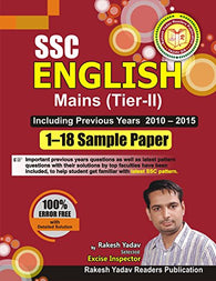 RAKESH YADAV SSC ENGLISH MAINS (TIER II) 1-18 SAMPLE PAPER 2017