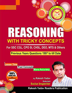 Rakesh Yadav Sir's SSC Reasoning in Hindi with Tricky Concepts