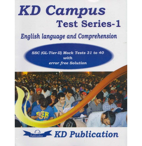 KD Publication [English Language and Comprehension Test Series - 1 SSC CGL Tier - II Mock Test 31 to 40 Paperback]