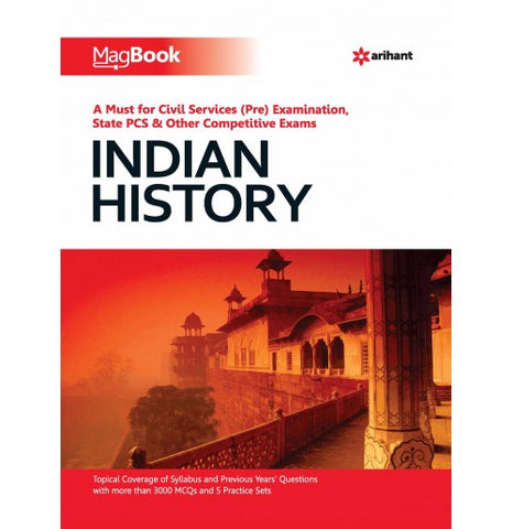 Arihant Publication PVT LTD [Magbook Indian History (English) Paperback] by Janmenjay Sahini