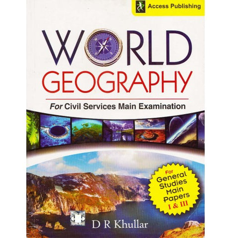 WORLD GEOGRAPHY By D R Khullar