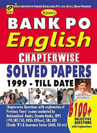 Bank PO English language Chapterwise Solved Papers  - 1723