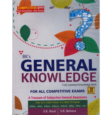 B. K. Publication [General Knowledge, A Treasure of Subjective General Awareness, (English) Paperback] by S. K. Rout & S. R. Behera