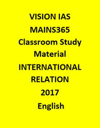 GS INTERNATIONAL RELATION