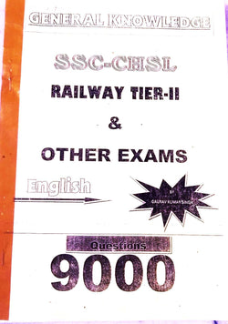 General knowledge 9000 plus Questions Answers Printed Notes By Gaurav Kumar Singh