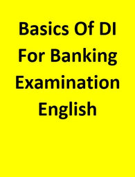 Basics Of DI For Banking Examination - English