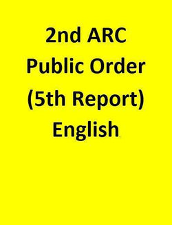 2nd ARC Public Order (5th Report) - English