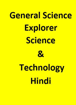 General Science Explorer (Science & Technology) - Hindi