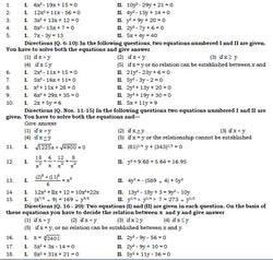 Quadratic Equation 200 Questions Free Soft Copy