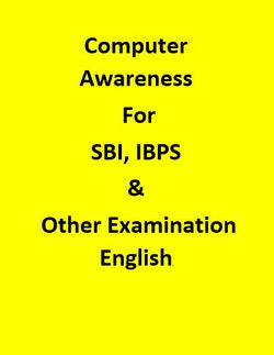 Computer Awareness For SBI, IBPS & Other government Examination - English