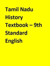Tamil Nadu History Textbook – 9th Standard - English