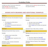 Vocabulary Tricks Free Soft Copy