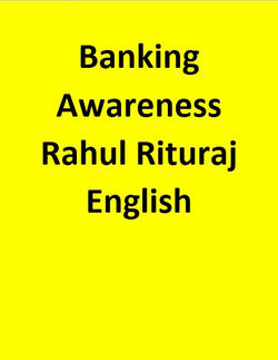 Banking Awareness By Rahul Rituraj Sir - English