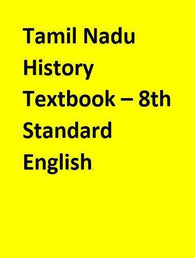 Tamil Nadu History Textbook – 8th Standard - English
