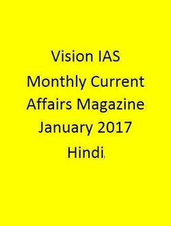 Vision IAS Monthly Current Affairs Magazine – January  2017-Hindi