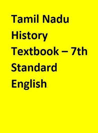 Tamil Nadu History Textbook – 7th Standard - English