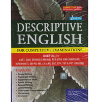 Descriptive English 1st Edition for Competitive Examinations